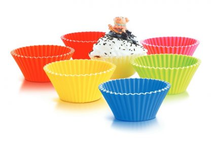 3 inch Silicone Baking Cups | Cooking & Baking Products | SiliconeZone... Life is Art!