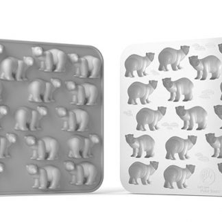 Polar Bear Silicone Mold | My Animals Collection | SiliconeZone... Life is Art!