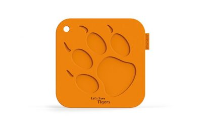 Tiger Paw Print Silicone Pot Holder | My Animals Collection | SiliconeZone