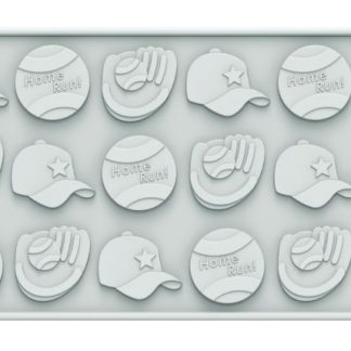 Baseball Mold | Sports Silicone Molds | Siliconezone... Life is Art!