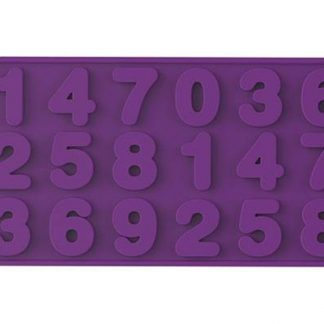 Numbers Silicone Mold | Wafer-Thin Collection | SiliconeZone... Life is Art!