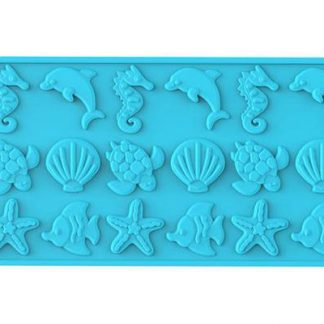Silicone Ocean Mold | Chocochips Molds | SiliconeZone