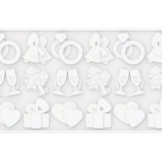 Silicone Wedding Mold | Wafter-Thin Events Collection | SiliconeZone... Life is Art!