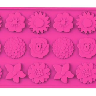 Flowers Silicone Mold | Wafer-Thin Collection | SiliconeZone... Life is Art!