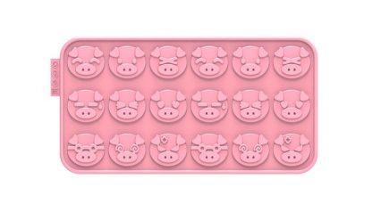 Piggy Chocochips Silicone Mold | SiliconeZone