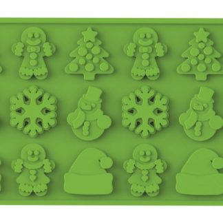 Christmas Silicone Mold | Wafer-Thin Collection | SiliconeZone... Life is Art!