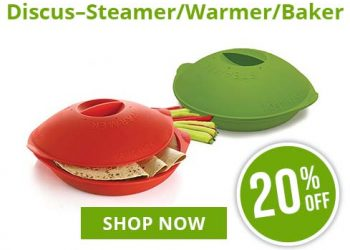 Discus Steamer Warmer | On Sale | SiliconeZone... Life is Art!